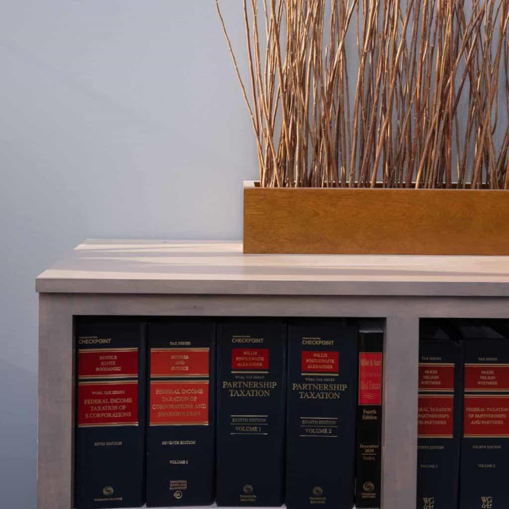 Garrett Stiepel Ryder LLP Books and Office